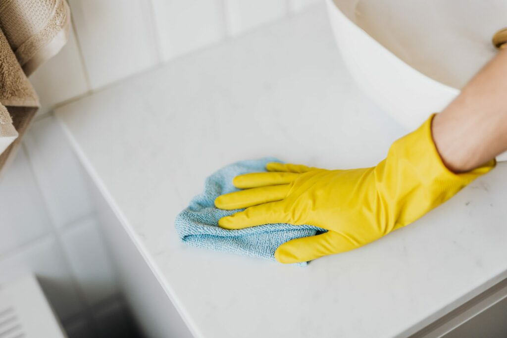 clean natural stone